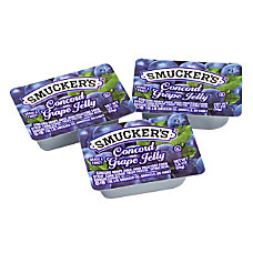 Smuckers Single Serve Jam Packs Concord