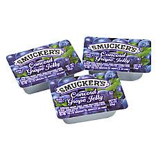 Smuckers Single Serve Jam Packs Concord