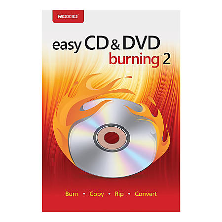 Corel® Easy CD & DVD Burning 2, Traditional Disc