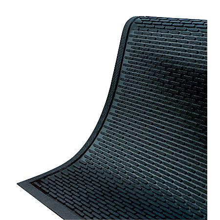 SuperScrape Floor Mat, 3' x 5', Black