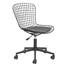 Zuo Modern Wire Mid Back Office