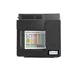 HP LaserJet M651DN Color Laser Printer