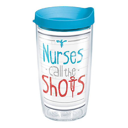 Tervis Tumbler With Lid, 16 Oz, Nurses Call The Shots