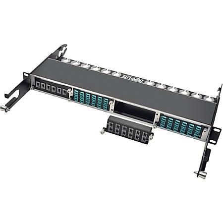 Tripp Lite 40Gb High Density Pass-Through Cassette 12 12-Fiber MTP/MPO