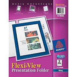 Avery Flexi View 2 Pocket Folders