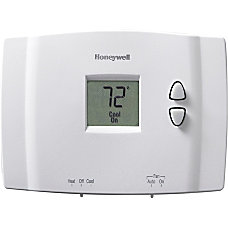 Honeywell Digital Non Programmable Thermostat White
