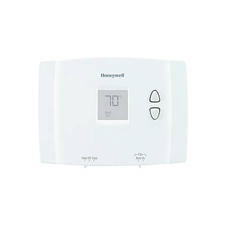 Honeywell Digital Non-Programmable Thermostat, White, RTH111B1016A