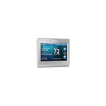 """Honeywell® Wi-Fi 7-Day Programmable Touchscreen Smart Thermostat, 3 1/2""""H x 4 1/2""""W x 7/8""""D, Silver"""