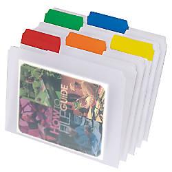 Pendaflex EasyView File Folders 13 Cut