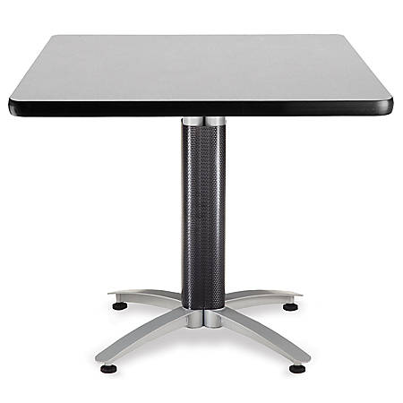 """OFM Multipurpose Table, Square, 36""""W x 36""""D, Gray"""