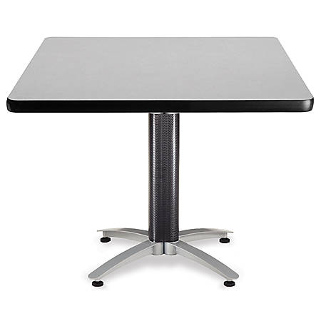 "OFM Multipurpose Table, Square, 42""W x 42""D, Gray"