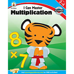 Carson Dellosa I Can Master Multiplication