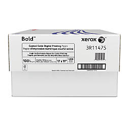 Xerox Bold Digital Coated Satin Printing