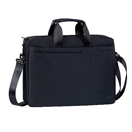 "Rivacase 8335 Classy Laptop Bag With 15.6"" Laptop Pocket, Black"