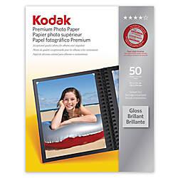 Kodak Premium Gloss Photo Paper 8