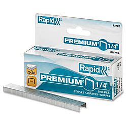 Rapid Premium 14 Staples 25 Sheets