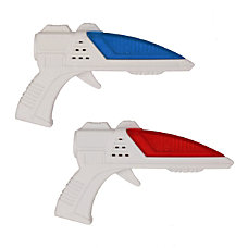 Westminster Worlds Smallest Laser Guns RedBlue
