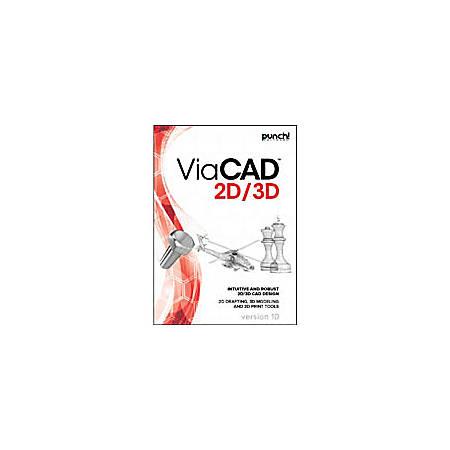 Punch! ViaCAD 2D/3D v10 for Mac