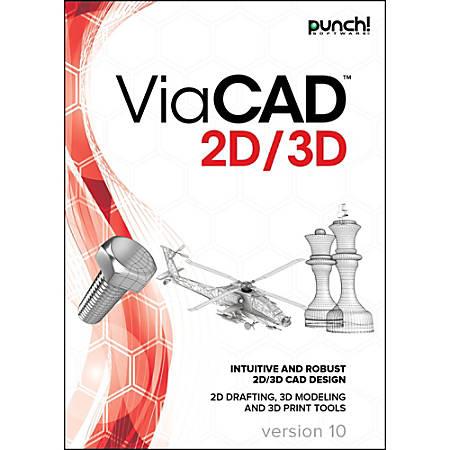 Punch! ViaCAD 2D/3D v10 for Mac, Download Version