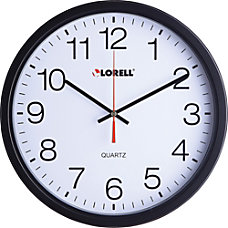Lorell 12 12 Slimline Wall Clock
