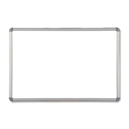 "Best-Rite® Magna Rite Magnetic Marker Board, 36"" x 24"", White Board/Gray Frame"