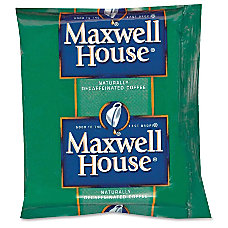 Maxwell House Pre Measured Decaffeinated Coffee