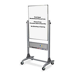Best Rite Platinum Reversible MelamineCork Board