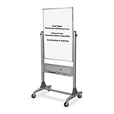 Best Rite Platinum Reversible MelamineCork Board