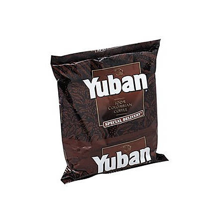 Classic Coffee Yuban Filter Pack Coffee, 1.2 Oz., Box Of 42