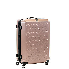 ful Hearts Upright Rolling Suitcase 21