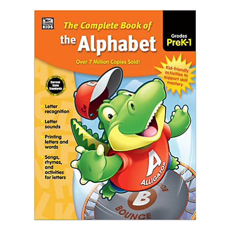 Thinking Kids® Complete Book Of The Alphabet, Grades Pre-K - 1