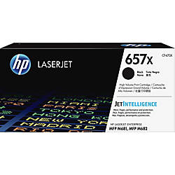 HP 657X Original Toner Cartridge Black