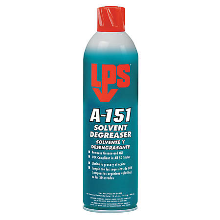 A-151 Solvent/Degreaser, 15 oz Aerosol Can