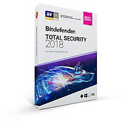 Bitdefender Total Security 2018 1 User