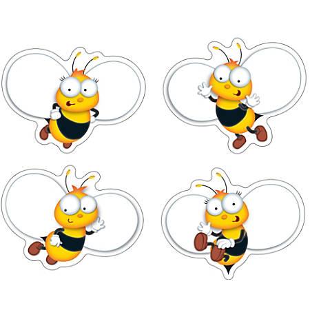 """Carson-Dellosa Buzz-Worthy Bees Cutouts, 5 1/2"""" x 5"""", Multicolor, Grades Pre-K - 8, Pack Of 45"""