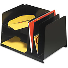 MMF HorizontalVertical File Organizer 6 Compartments