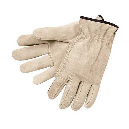 Memphis Glove Premium-Grade Leather Unlined Driving Gloves, Large, Pack of 12 Pairs