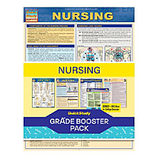 QuickStudy Grade Booster Pack Nursing