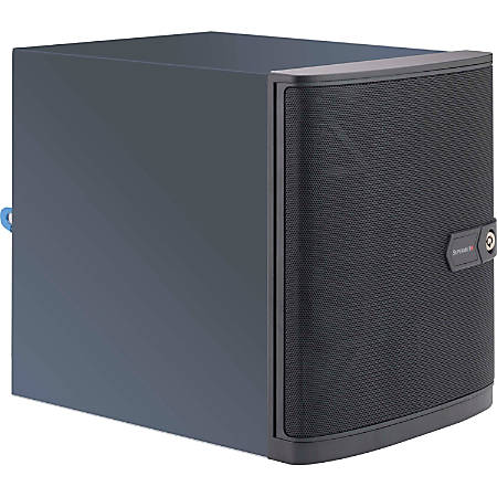 "Supermicro SuperServer 5028A-TN4 - Server - MT - 1 x Atom C2758F - RAM 0 GB - SATA - hot-swap 3.5"" - no HDD - AST2400 - GigE - monitor: none"