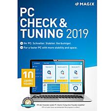 MAGIX PC Check Tuning 2019