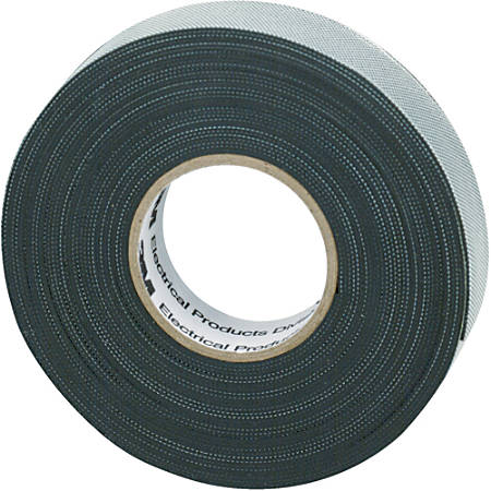 "3M™ 2155 Rubber Splicing Electrical Tape, 1"" Core, 0.75"" x 22', Black, Case Of 10"