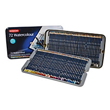 Derwent Watercolor Pencil Set With Tin