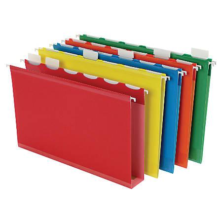 Pendaflex® Assorted Box-Bottom Hanging File Folders, Legal Size, Assorted, Box Of 20