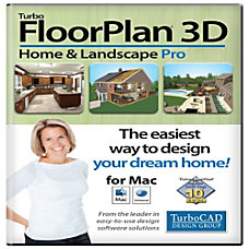 TurboFloorPlan Home Landscape Pro 2015 Mac