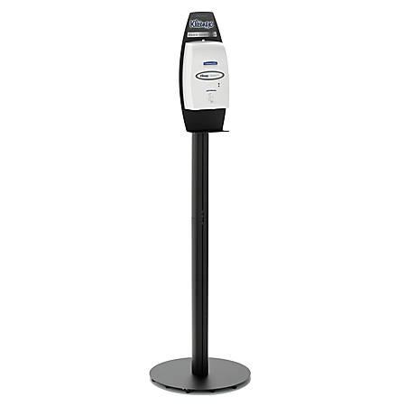 Kleenex® Electronic Cassette Soap Dispenser Stand, Black