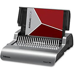 Fellowes E 500 Electric Comb Binding