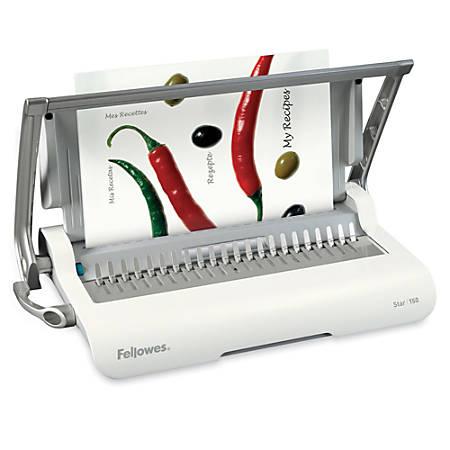 Fellowes® Star Comb Binding Machine