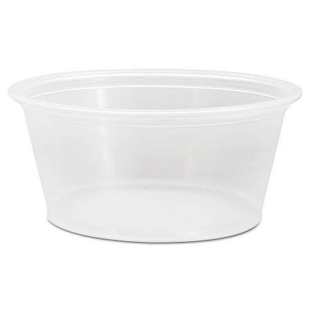 Dart® Conex® Complements Portion/Medicine Cups, 3.25 Oz, Clear, Case Of 2,500