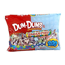 Spangler Dum Dums And Smarties Mix