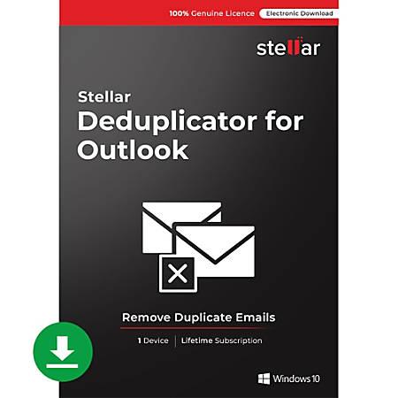 Stellar Deduplicator for Outlook